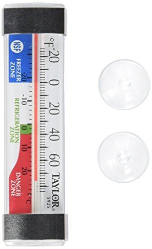 Taylor Precision Produkte Klassisches Design Gefrierschrank/Kühlschrank Utility Thermometer (Thermometer Taylor)