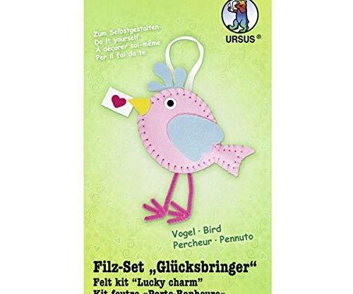 Nähzeug Aus Filz Vogel (1pc) 19x18cm, Ursus, Kreative Kits, die Kreativität der Schule -
