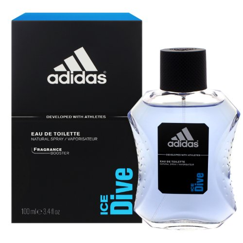 2 x adidas Ice Dive Eau de Toilette / EDT / ozonischer Duft / Natural Spray / Vaporisateur / je 100ml
