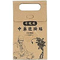 LoveOlvidoE 10 unids Potente Adelgaza Pegar Pegatinas Cintura Fina Vientre Quemador de Grasa Parche Medicina China