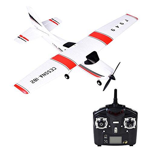 f939 gleiter flugzeug fernbedienung festnetz - flugzeug flyer rtf rc flugzeuge fliegen helikopter - drohne mit 2.4g 3ch für wltoys spielzeug für drinnen / im freien flug (Fernbedienung Flugzeug-motoren)