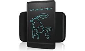NEWYES LCD Writing Tablet eWriter 10 Inches - can be locked - with a black Sleeve - Black