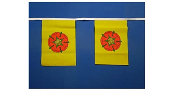 Derbyshire Flag Bunting 9metres 30ft Long with 30 Flags