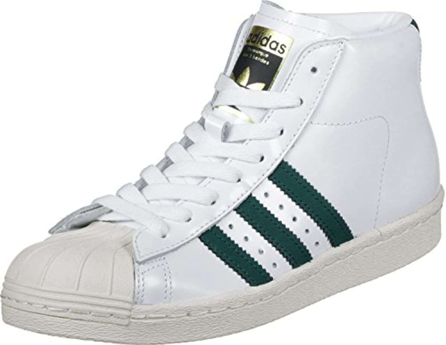 adidas Pro Model 80s Schuhe white/green/black -