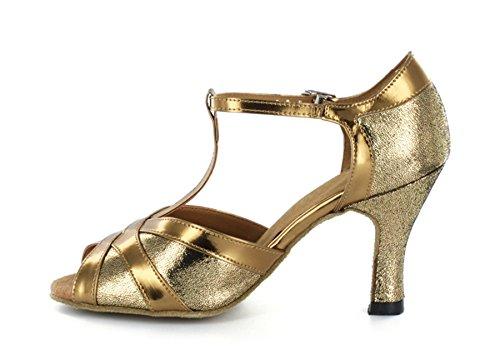 Minitoo ,  Damen Tanzschuhe , Gold – gold – Größe: 39 - 3
