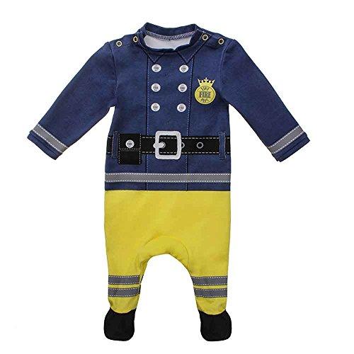 Moozels Baby Jungen (0-24 Monate) Body Feuerwehrmannrot 18-24 ()
