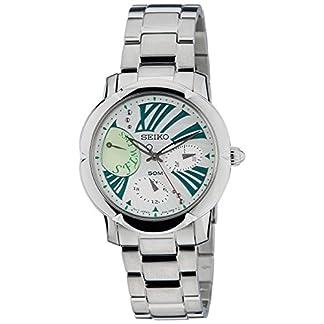 Seiko Criteria Chronograph White Dial Women's Watch-SNT879P1