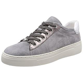 ara Damen Courtyard Sneaker, Grau (rauch, street/Weiss), 39 EU (6 UK)