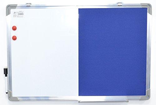 Glanz Kork-Pinnwand Büro Memo Schule, mit gratis 30Push Pins Board, die Classic Wood Board Größe 600mm x 900mm, 400mm x 600mm, 300mm x 400mm, Aluminium Frame 600 * 900MM D4