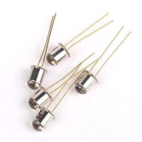 MagiDeal 10pcs/Lot 3DU5C Transistor de Phototransistor de Silicium Métal