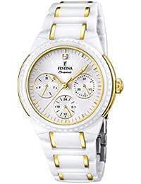 Festina Damen-Armbanduhr Analog Quarz verschiedene Materialien F16699/2
