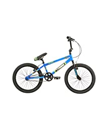 Tribe patrulla, niños, para bicicleta BMX, color azul