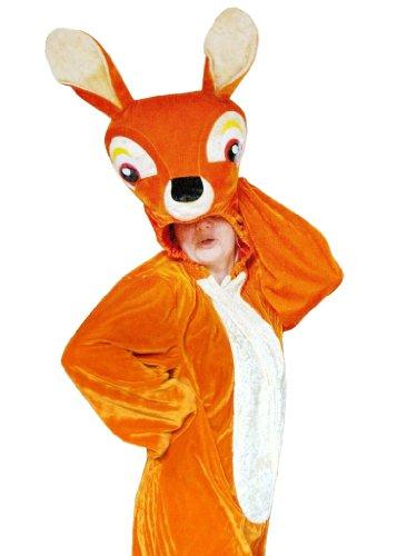 Rehkitz Kostüm Rehkitzkostüm Erwachsener Mann kostüm Fasching Karneval Kostüme Karnevalskostüm Faschingskostüm SU20 XL