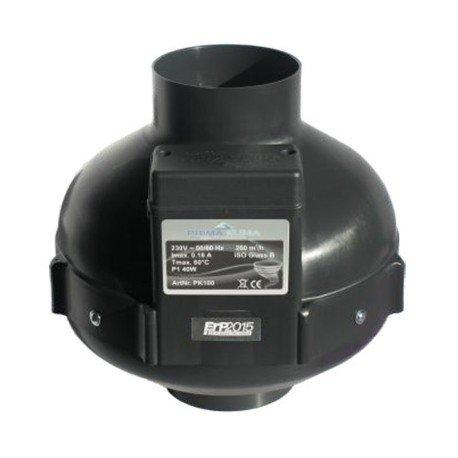 Extracteur 2 vitesses 160/280m3/h - 100mm - Prima Klima