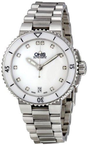 Oris Women's 733-7652-4191MB Diamond Watch
