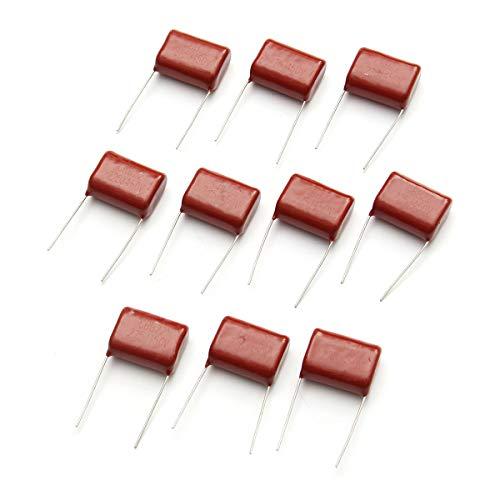LaDicha 10Pcs R285 450V 2.2Uf CBB Polypropylen-Film Capacitor Pitch 20Mm 225 2.2Uf 450V