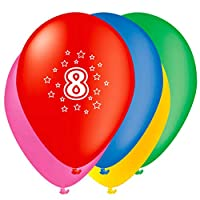 Age Birthday Balloons - Party Decorations