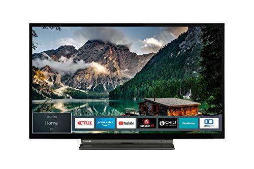 Toshiba 32LL3A63DA 32 Zoll Fernseher (Full HD, Smart TV, Triple-Tuner, Prime Video, Bluetooth, Works with Alexa)