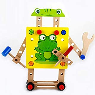 FSR Puzzle Assembling Building Blocks Toy Luban Chair Multifunctional Disassembly Tool Nut Wire Assembly