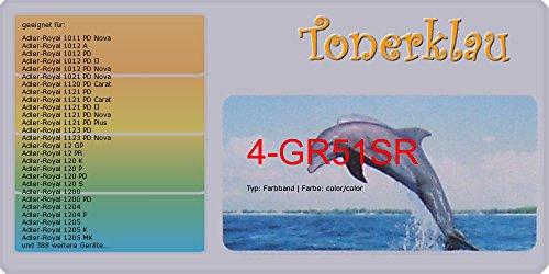 kompatibel Farbband 4-GR51SR für: Casio DR 120 V als Ersatz für Casio GR-51SR / GR-51SR -