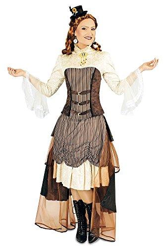 Karabu Steampunk Frauenkostüm war - Steampunk Viktorianische Lady Kostüm
