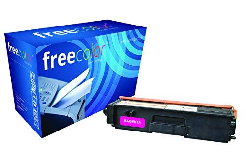 Preisvergleich Produktbild freecolor TN320M für Brother HL-4140CN, Premium Tonerkartusche, wiederaufbereitet, 1.500 Seiten, 5 Prozent Deckung, MAGENTA