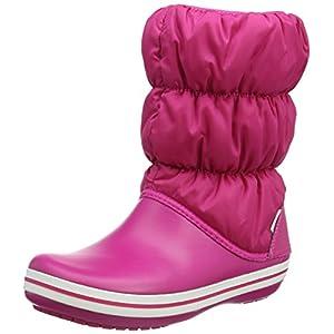 Crocs Winter Puff Boot Women, Damen Schneestiefel, Pink (Candy Pink/candy Pink), 41/42 EU