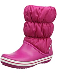crocs Damen Winter Puff Boot Wom Schneestiefel