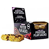 Vyomax Nutrition Protein Flapjacks 12 bars Chry Almnd