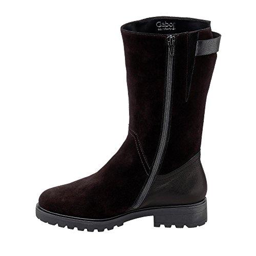 Gabor Comfort Ladies Boots 72.785.47 nero schwarz (Mel.)