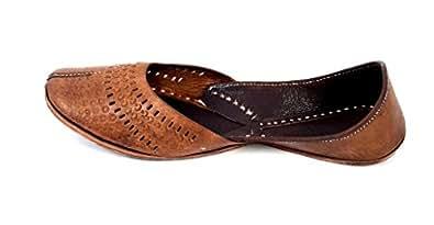 Genuine Leather Hand Crafted Ethnic Juti
