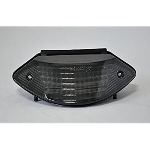 Topzone lenti affumicate moto luci posteriori a LED luce di stop con indicatori di indicatore di direzione integrato per Honda 02-07 599/919 03-06 CB600/CB900