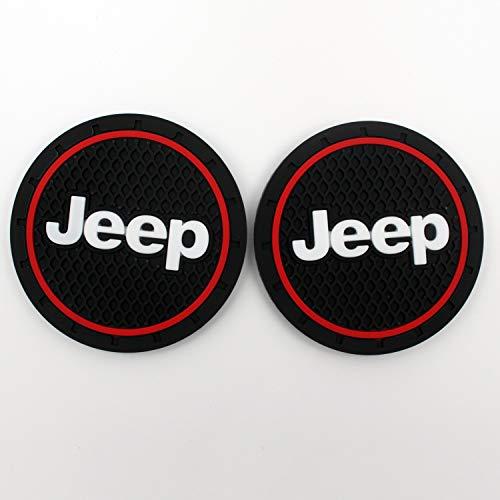Auto-Innenaccessoires Anti-Rutsch-Matte, Jeep Patriot Zubehör, Jeep Grand Cherokee Zubehör, Jeep Renegade Zubehör, 7 cm, 2 Stück (Jeep Cherokee Zubehör)