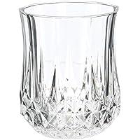 Cristal dArques Longchamp - Juego de 6 vasos de whisky 230ml, sin la