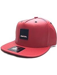 Starter Smoked Snapback Cap - Red / Black