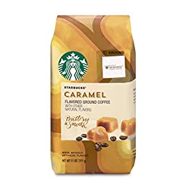 Starbucks Caramel, Ground Coffee, 11 oz