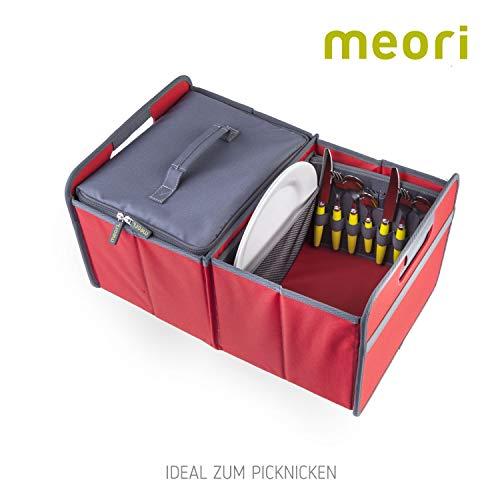 41eQJhfsZNL - Picknicker für Faltboxen faltbar Polyester Besteckkorb Geschirr Outdoor Party Camping Grillen Reise