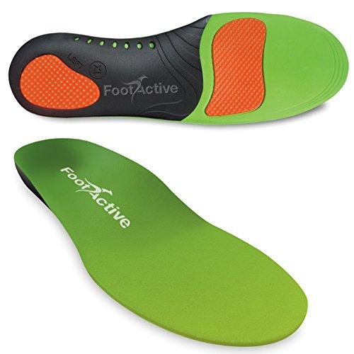 FootActive SPORT - Einlegesohlen für Sport, Freizeit und Beruf - 44 - 45 (L)