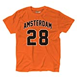 T-Shirt manner Amsterdam 28 Orange KiarenzaFD Streetwear Shirts