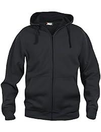 noTrash2003 Streetwear Hoody Full Zip Qualitäts Kapuzenjacke mit Kopfhörerzugang in der Kapuze 280g Qualität by Clique in 9 Farben und 7 Größen