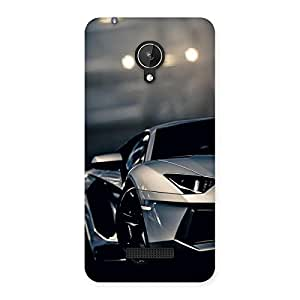 Impressive Royal Car Multicolor Back Case Cover for Micromax Canvas Spark Q380