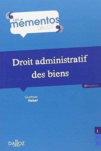 Droit administratif des biens - 21e éd.