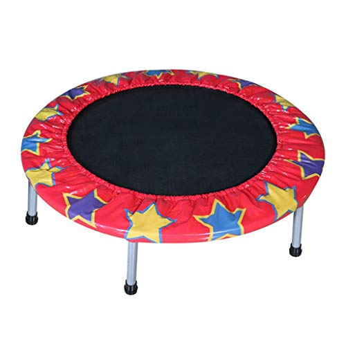 Lovely High Rebound Fitness Trampolin Indoor Trampolin Trampolin für Kinder Erwachsene