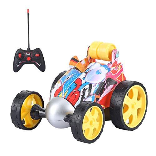 Cazon RC Auto, Ferngesteuertes Auto 360° Flip Aufrechtes Fahren Stunt Auto Rennwagen für Jungen und Mädchen.