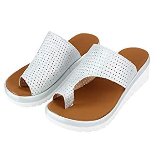 Junjie 2019 Damen Frauen Thick Bottom Sandal Schuhe Keilabsatz Sandalen Clip Toe Sommer Strand Schuhe Schwarz, Silber, Lila, Gelb, Grau, Khaki