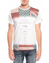 Deeluxe Andreas - T-shirt - Imprimé - Manches courtes - Homme