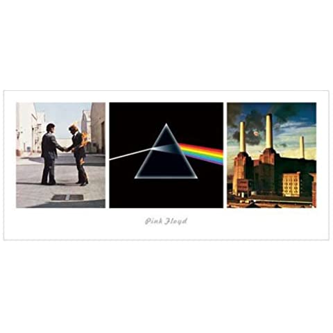 WISH YOU WERE HERE de Pink Floyd Dark Side Of The Moon Animals Impresión Art (Print