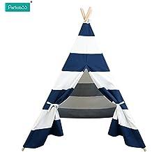 Pericross® Bambini Teepee Kids Play tenda 145cm indiano tenda per bambini interni casa tende Kid Play Ground esterni, giardino