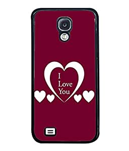 Fuson Designer Back Case Cover for Samsung Galaxy S4 I9500 :: Samsung I9500 Galaxy S4 :: Samsung I9505 Galaxy S4 :: Samsung Galaxy S4 Value Edition I9515 I9505G (Hearts Spades Coffee Red Love )