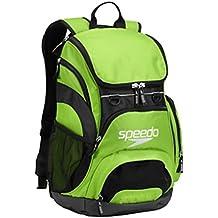 Speedo T-KIT Teamster Mochila, Unisex Adulto, Verde, 35 l
